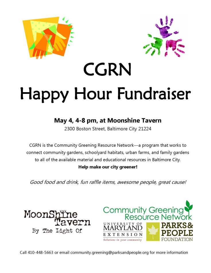 Happy Hour Fundraiser at the Moonshine Tavern Fundraising Ideas - fundraiser proposal template