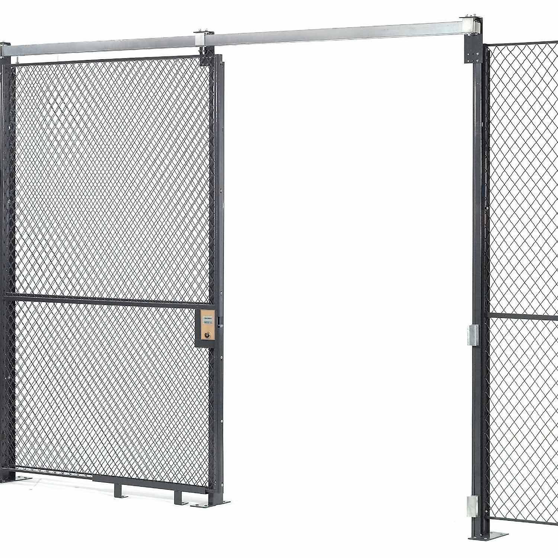 Wire Mesh Sliding Gate - 10x6 | Pinterest | Sliding gate, Wire mesh ...