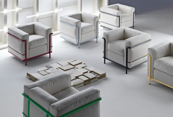 New Le Corbusier LC2 Armchair