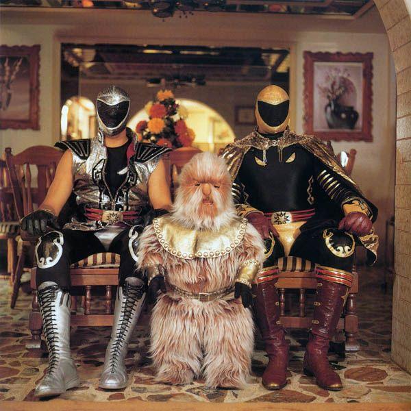Tinieblas mask - lucha libre -