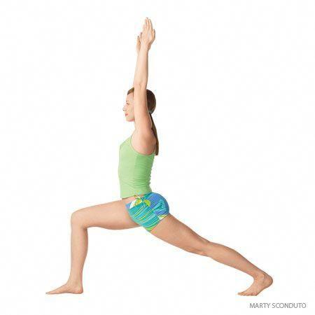 high lunge crescent variation stepbystep instructions