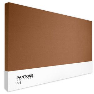 Bronze 876 Canvas Limited now featured on Fab. | Pantone. Metallic colors. Bronze
