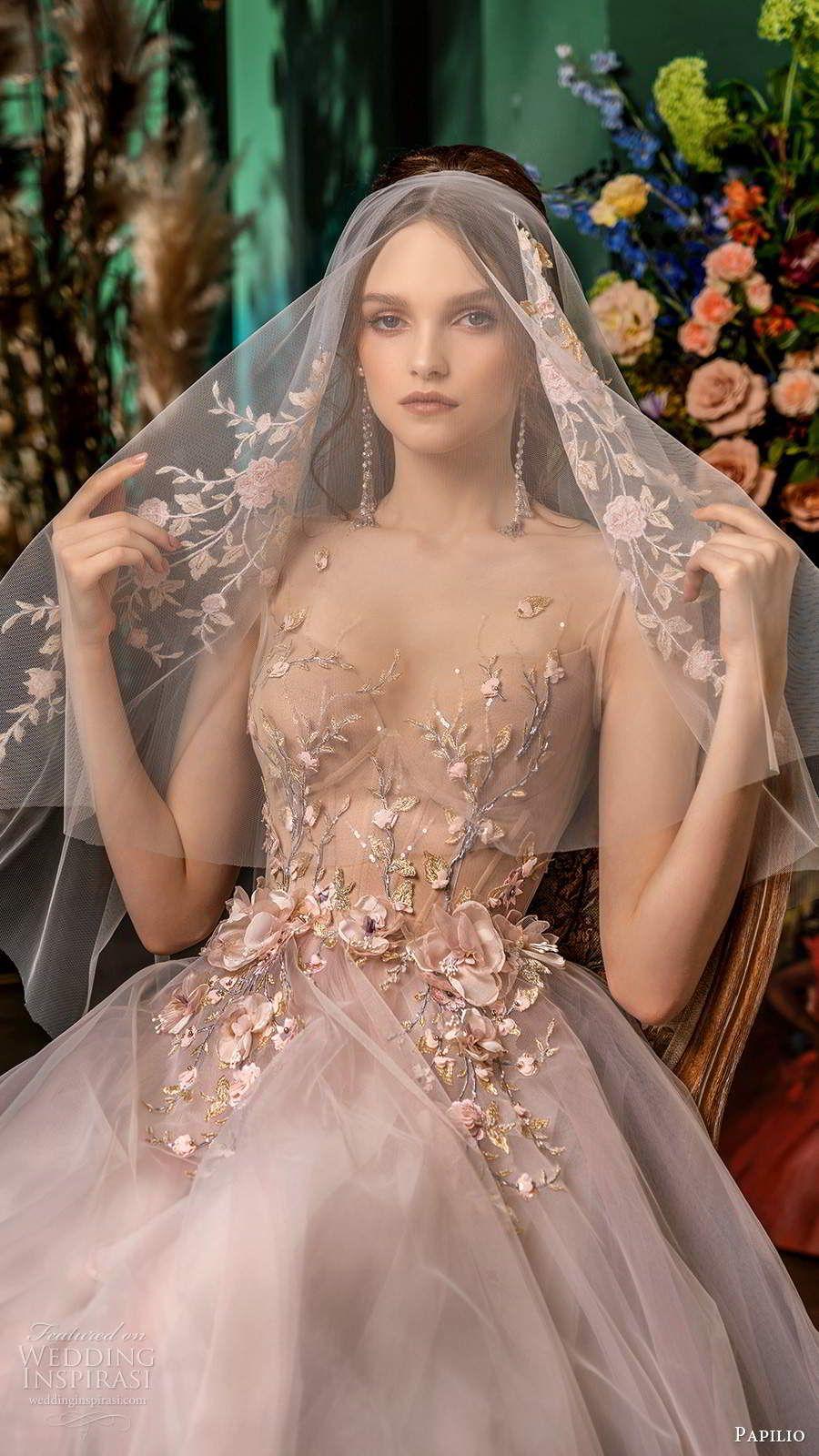 "Papilio Bridal 2020 Wedding Dresses — ""Impression"" Collection Part 2 |  Wedding Inspirasi | Designer wedding gowns, Wedding dresses blush, Wedding  dress trends"