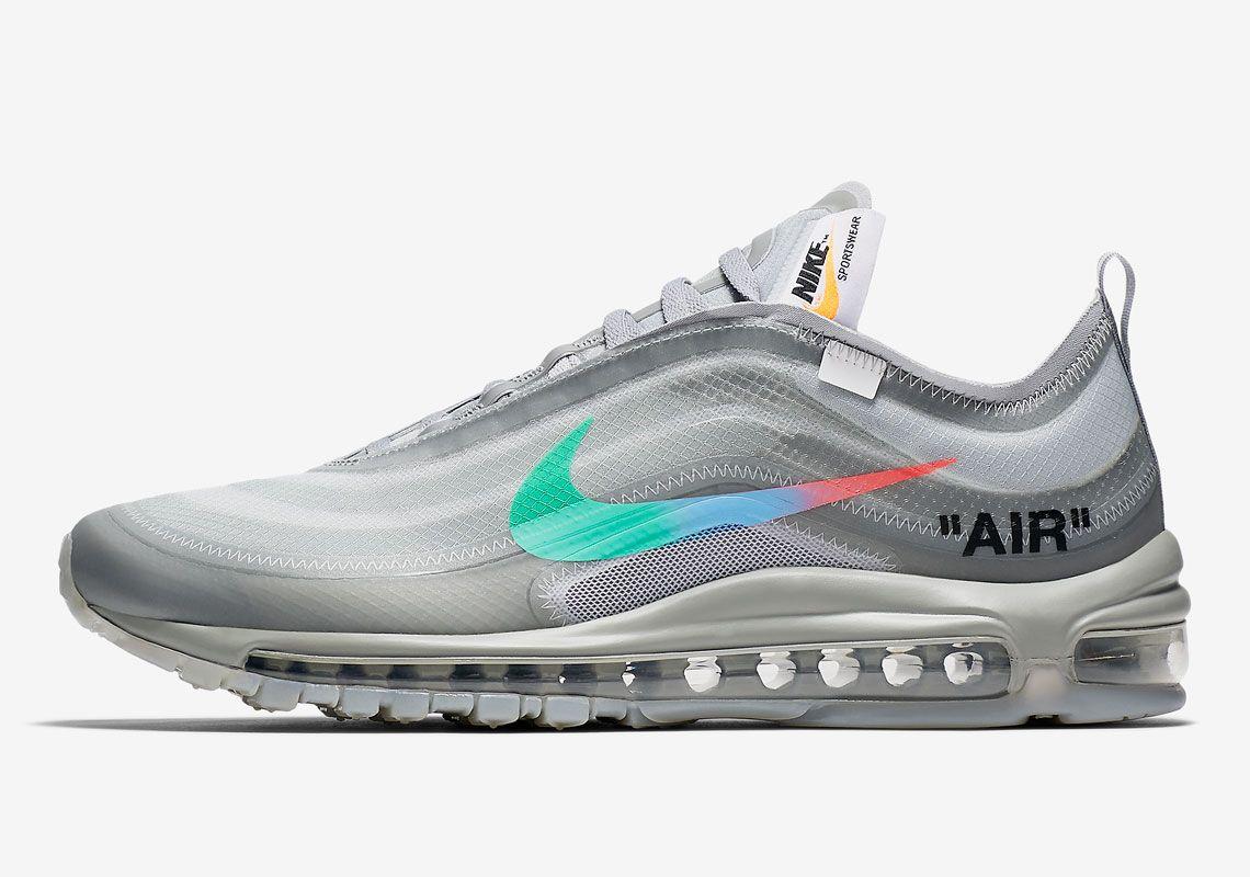 Off White Nike Air Max 97 Menta AJ4585 101 | Off white