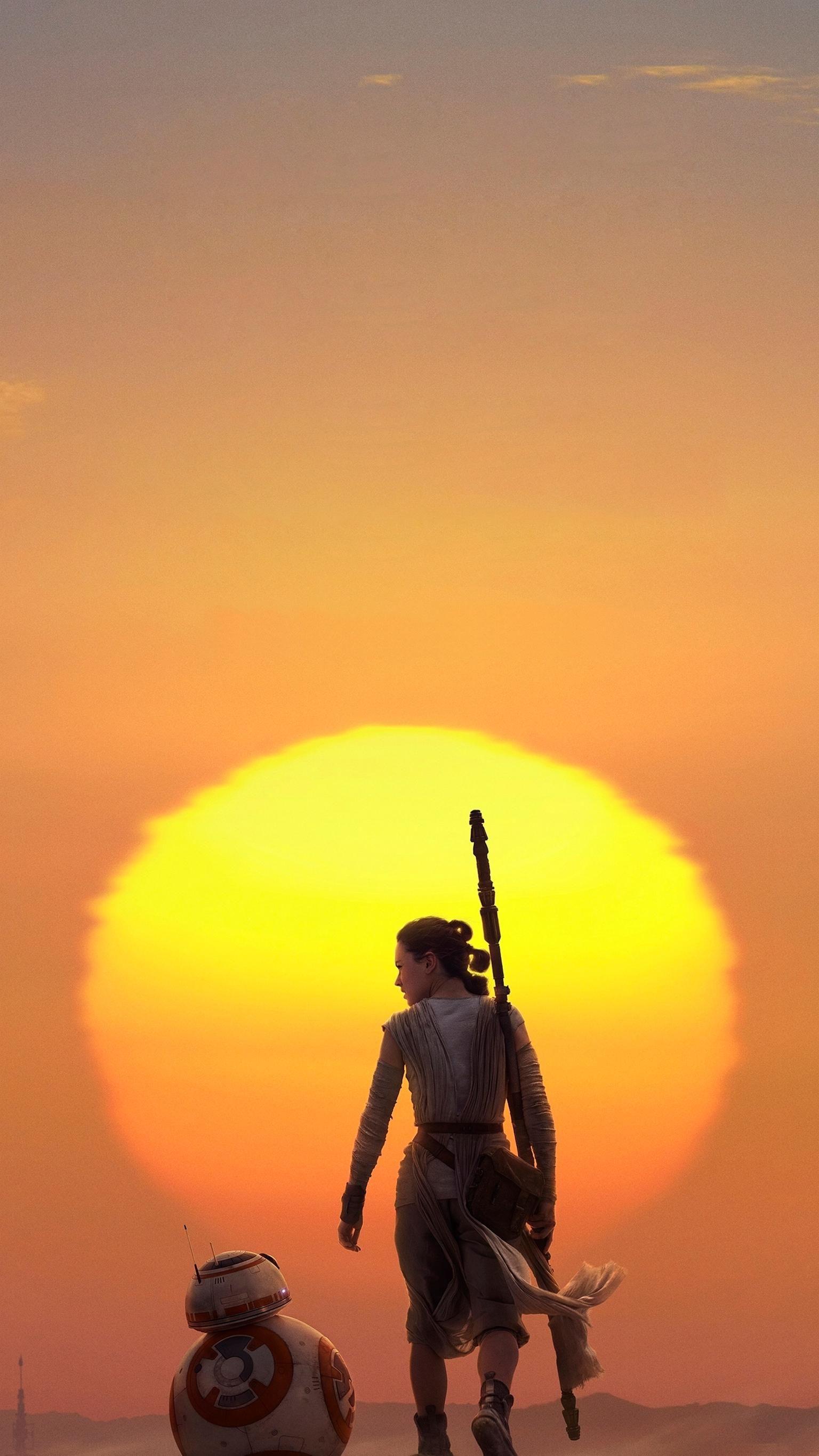 Star Wars: The Force Awakens (2015) Phone Wallpaper