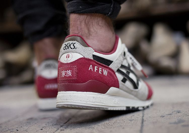 new product 2c4cc a571e afew x ASICS Gel Lyte III Koi On-foot Preview & Release Date ...