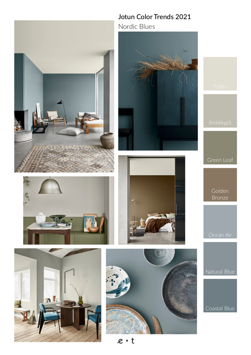 4 Color Trends 2021 By Jotun