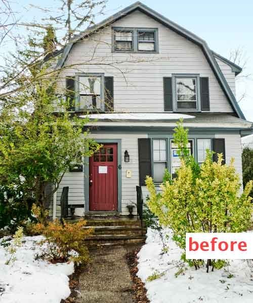 When Ken Malian And Steve Moran Integrated The Enclosed Porch On This 1927 Dutch Col Dutch Colonial Exterior Dutch Colonial Homes Front Porch Ideas Curb Appeal