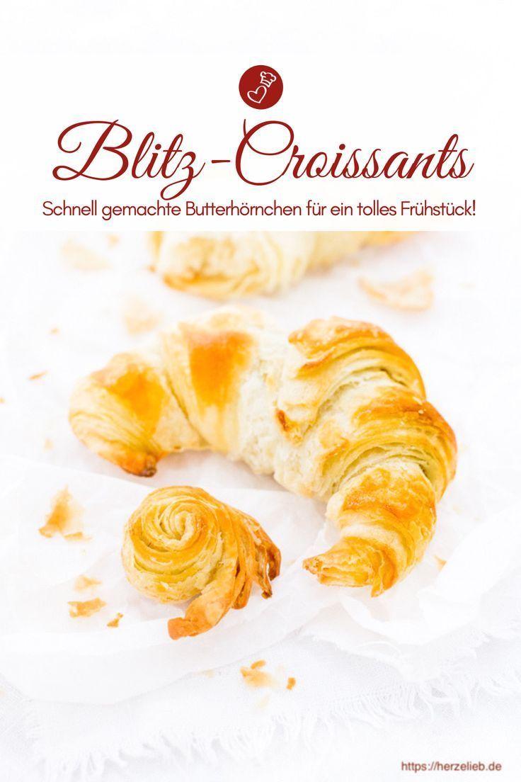 Blitzcroissants Rezept – Croissants schnell backen