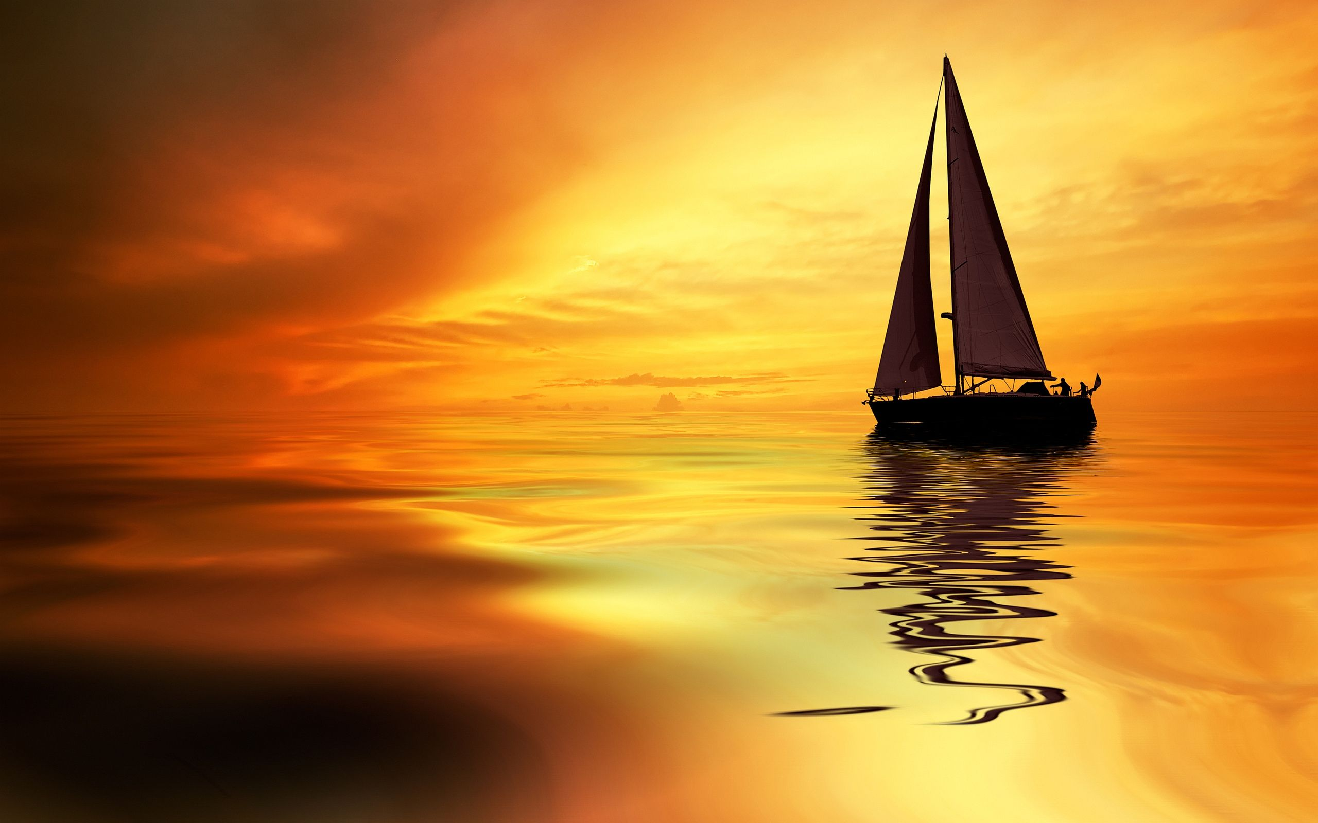 Sailboat Sunrise Wallpapers Pictures Photos Images Camp