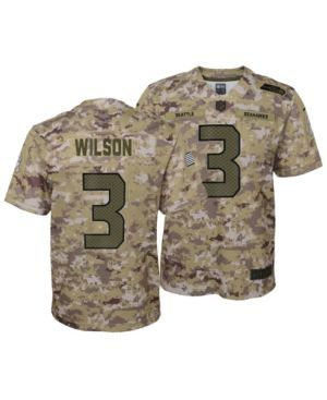 brand new 472c1 fc245 Nike Russell Wilson Seattle Seahawks Salute To Service ...