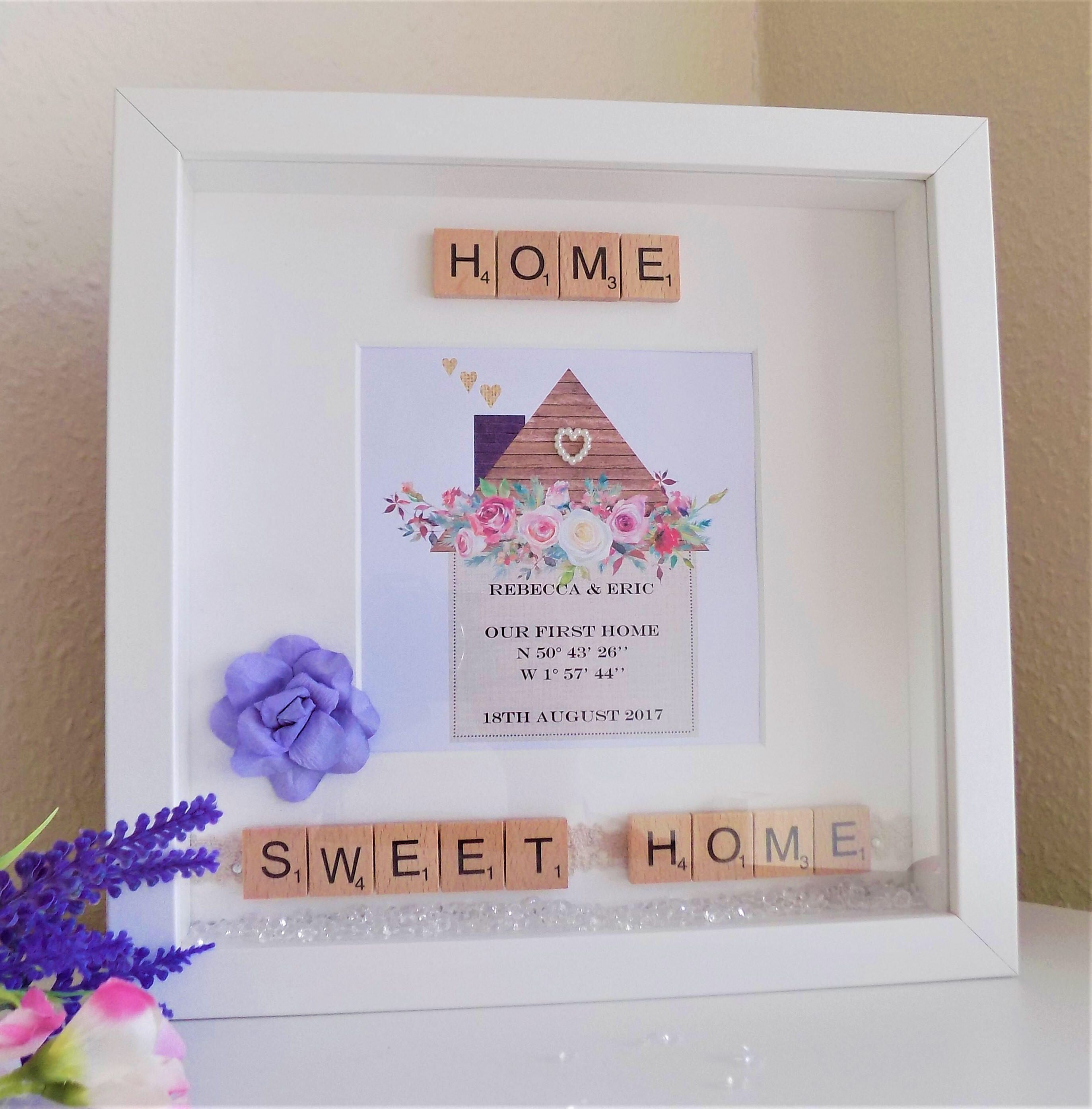 Personalised Housewarming Gift New Home First Home Moving Present ...