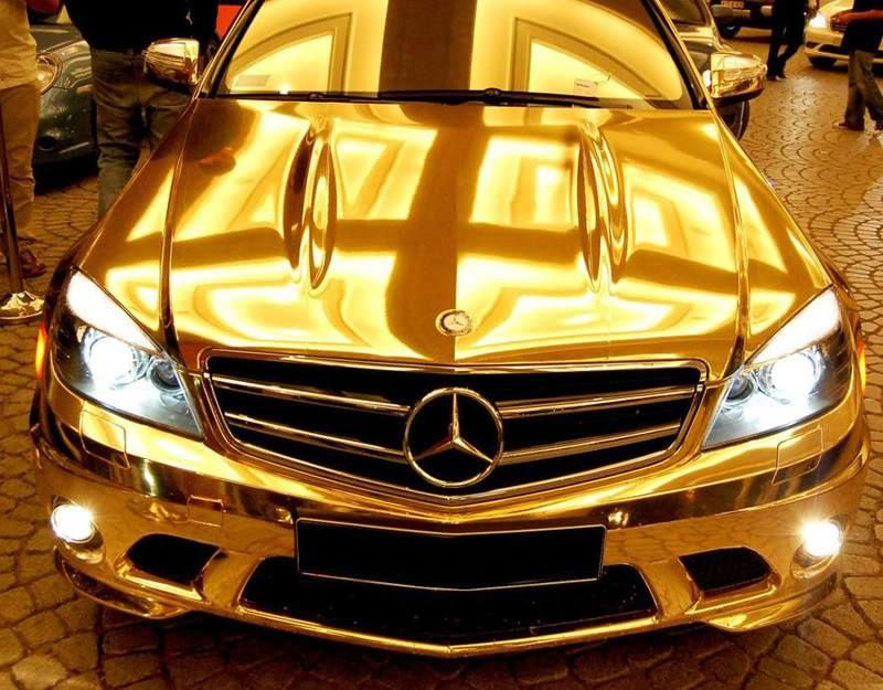 11++ Gold mercedes in dubai ideas