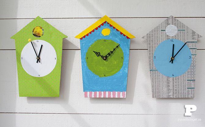 Tutorial: Make a Cardboard Clock  - thesoutherninstitute com