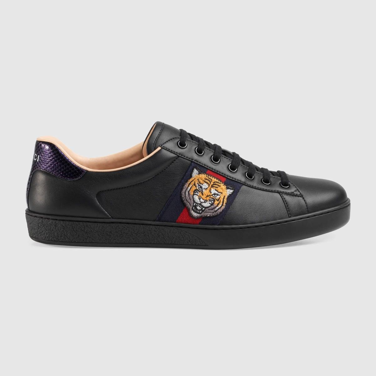 40af66d1e97 GUCCI Online Exclusive Ace Sneaker - Black Leather.  gucci  shoes  all