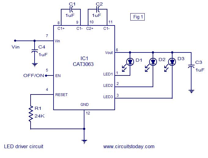 9 Watt Led Bulb Circuit Diagram | Circuit diagram, Led ...