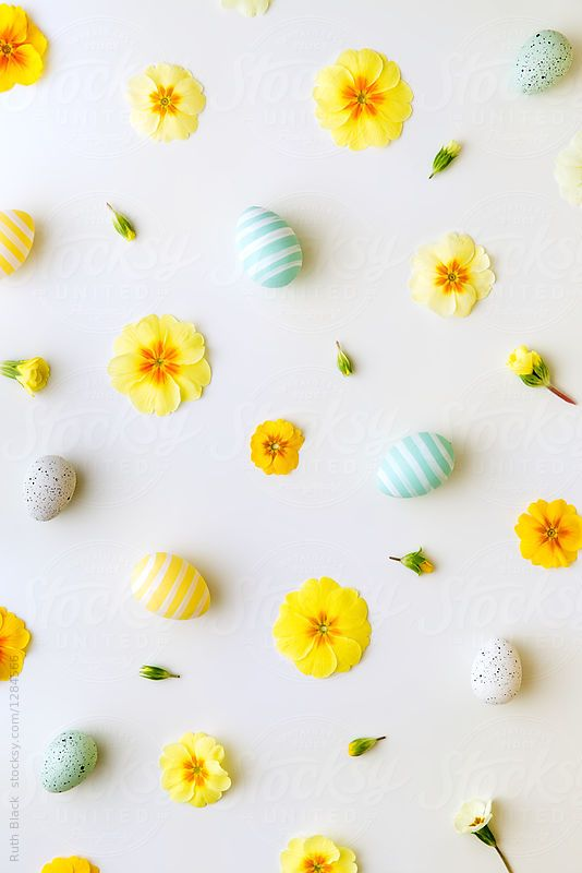 easter background by ruth black