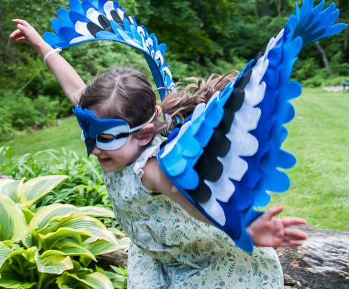 Making a blue bird costume wings blue bird costume bluebird blue jay costume wings and mask 0 24 months 2 5 by treeandvine solutioingenieria Image collections