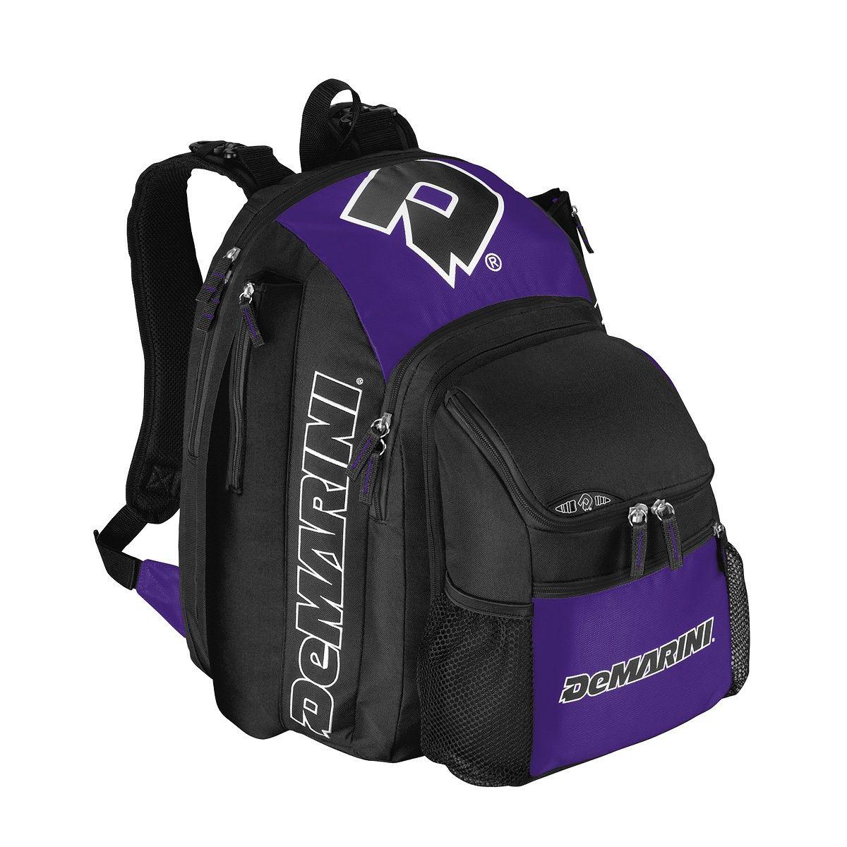 Demarini voodoo backpack baseball bat bags baseball
