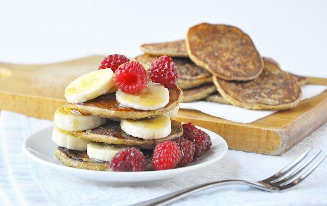 oatmeal breakfast blinis