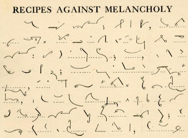 Recipes Against Melancholy\u0027 from the Pitman\u0027s Shorthand