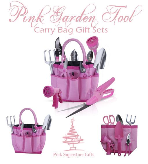 Pink Garden Tool Gift Sets With Images