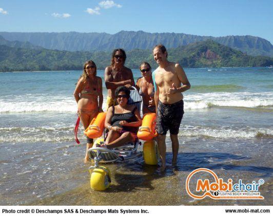 Floating Beach Wheelchair Mobi Chair By Dms Inc Floating Beach Wheelchair