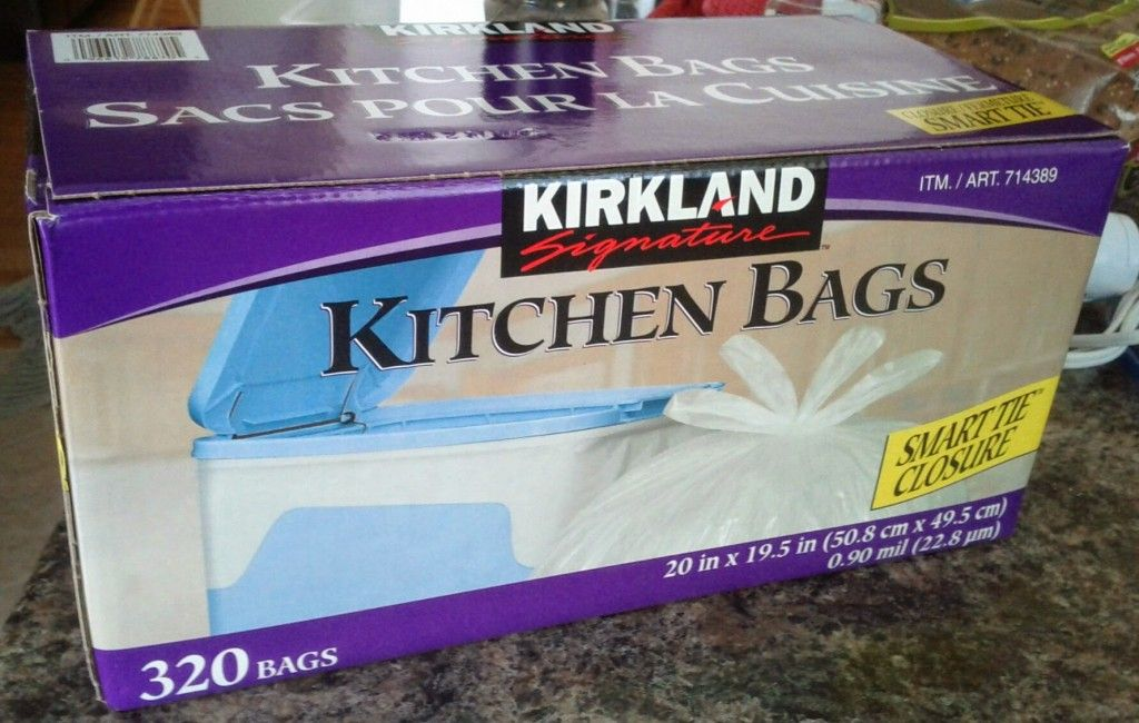 Costco S Kirkland Signature Kitchen Garbage Bags 14 49