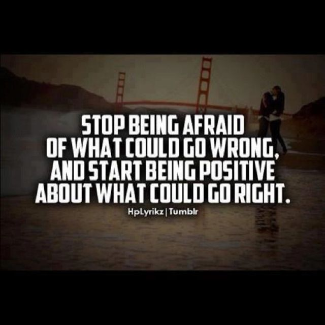 Being Scared Quotes: Stop Being Scared Quotes. QuotesGram