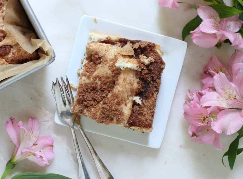 Cinnamon Streusel Vegan Coffee Cake (dairy-free, gluten ...