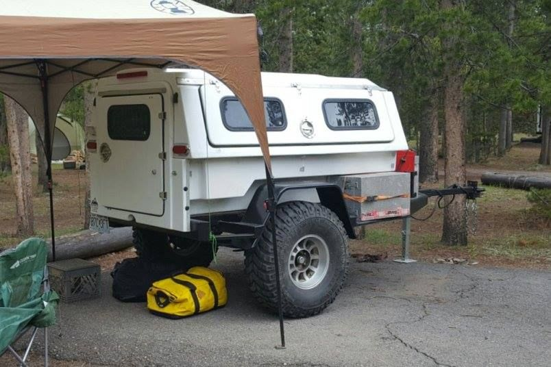 Compact Camping Concepts Off Road Camper Trailer Expedition