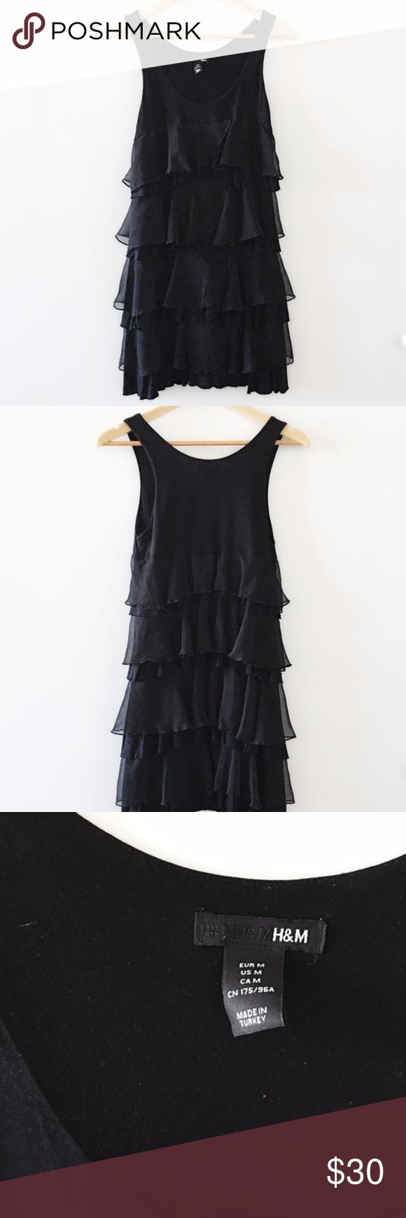 Hum black ruffle dress black ruffle ruffle dress and ruffles