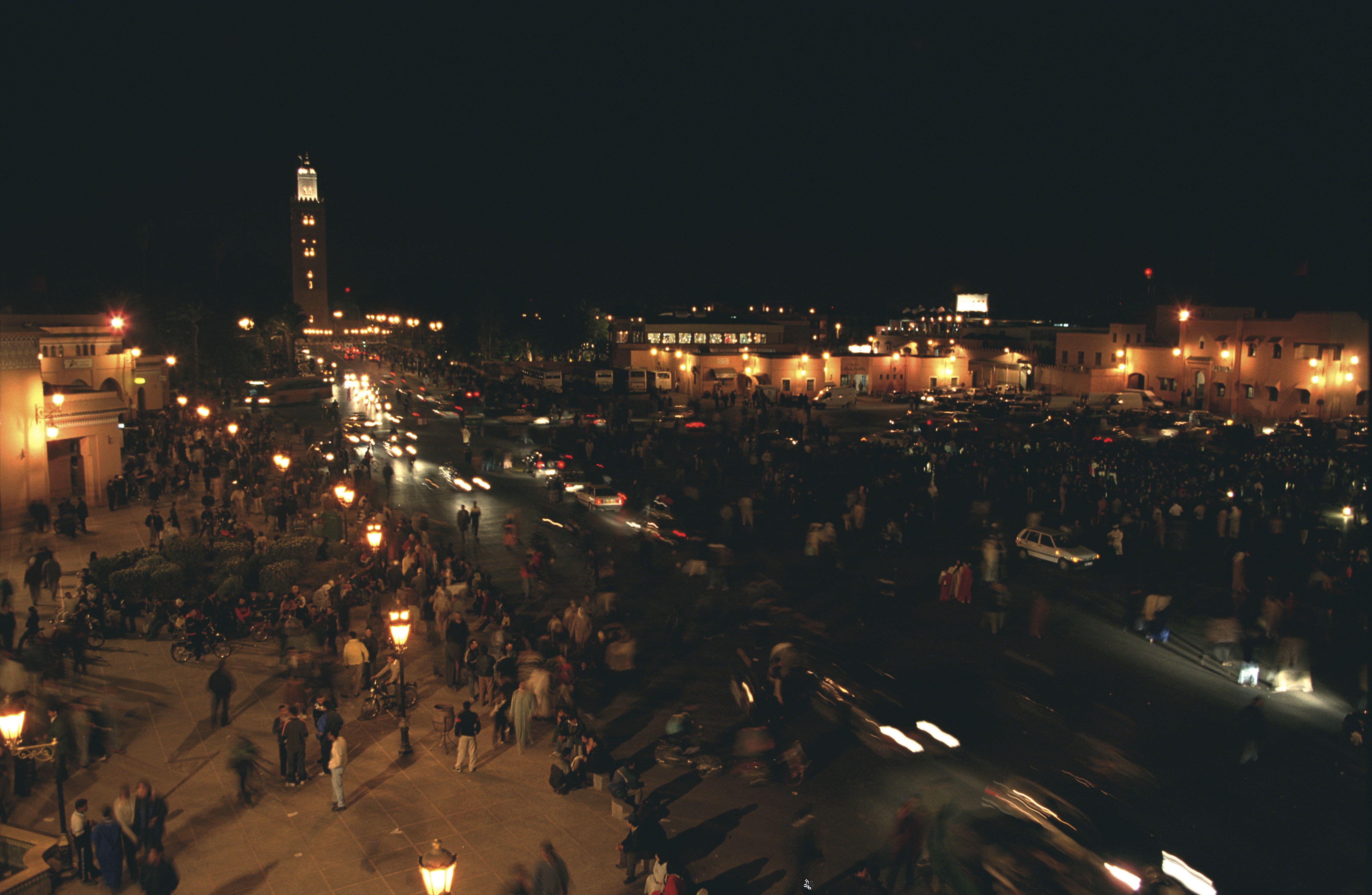 Marrakech de noche