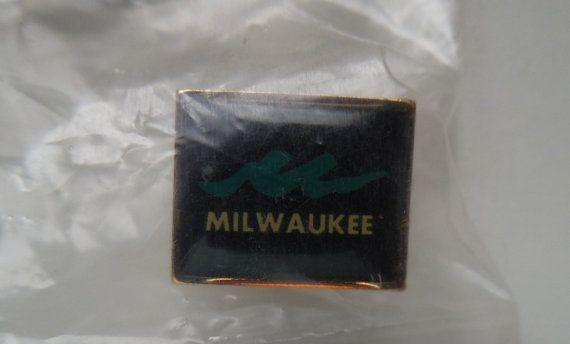 Milwaukee pin City of Milwaukee pin pin Milwaukee Milwaukee City pin hatpin lapel pin hat pin TillieLuvsTreasures
