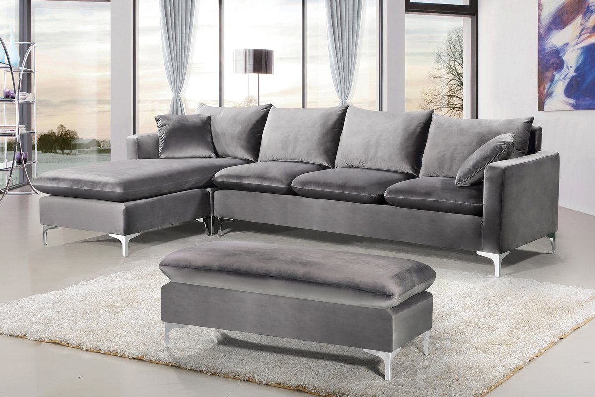 Vera Reversible Sectional | Sectional sofa with chaise ...