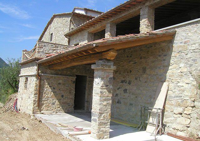Case in pietra e mattoni cerca con google case in for Case in stile chalet con garage annesso