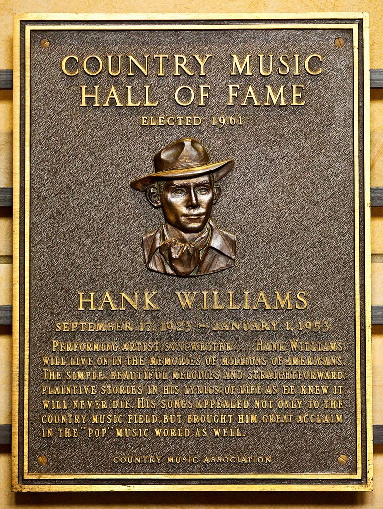 Hank WIlliams Inducted in 1961 in 2019 Country music