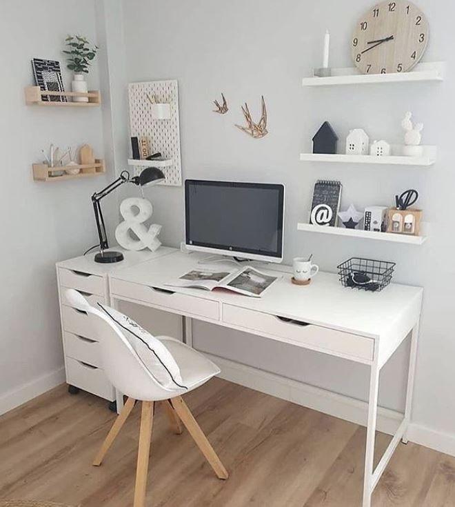 Gastando pouco com a decoração do Home Office! Mai
