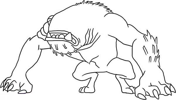 Wildmutt In Defensive Position Coloring Page Download Print Online Coloring Pages For Free Color Nim Online Coloring Pages Coloring Pages Online Coloring