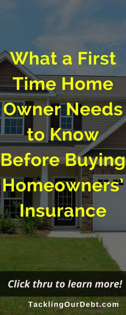 First Time Home Owners Purchasing Homeowners Insurance Home