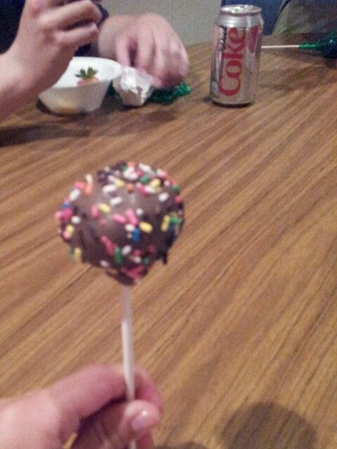 First cake pop I have ever had. Yum