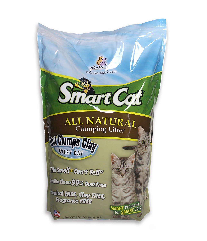 SmartCat All Natural Clumping Litter, 20Pound Size20