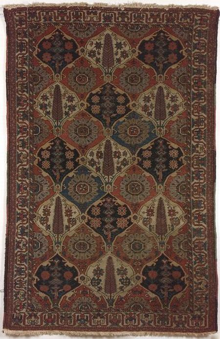 Bahktiari Rug, West Persia, late 19th/early 20th century,  6 ft. 10 in. x 4 ft. 6 in.   | Skinner Auctioneers Sale 2293