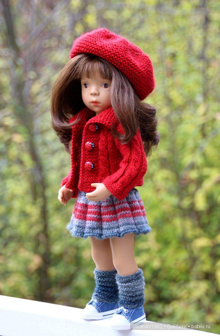 Пополнение в кукольном семействе. Новая Minouche от Sylvia