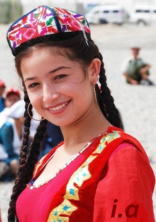 uygur türk kızı