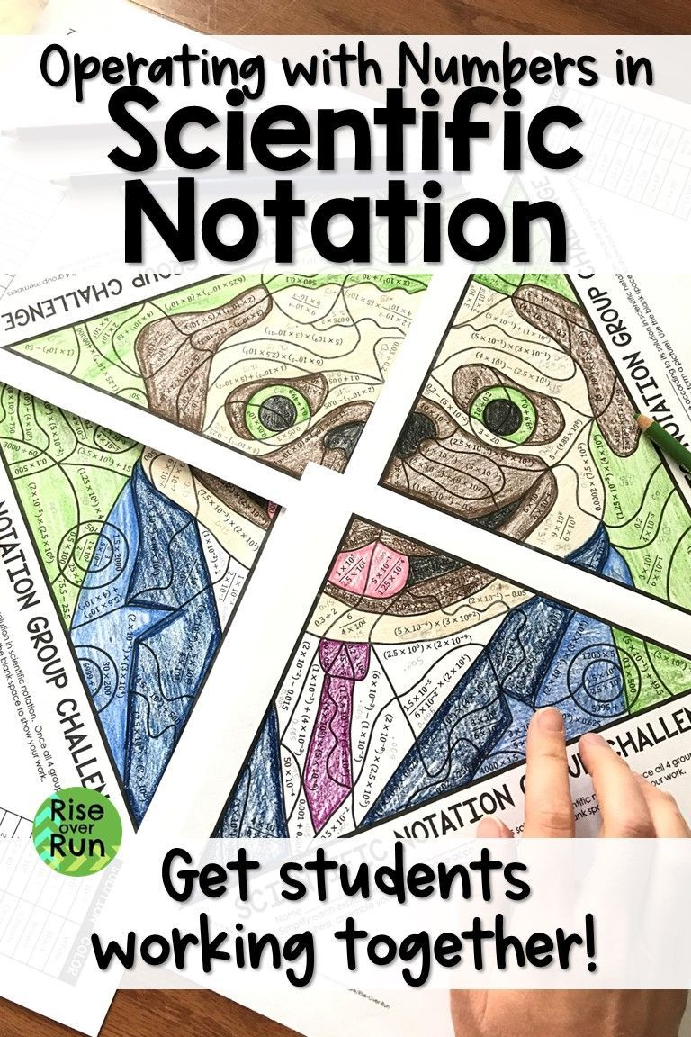 Scientific Notation Practice Just Got Fun Students Work In Groups Of 4 To Operate In Scientifi Scientific Notation Scientific Notation Practice 8th Grade Math [ 1152 x 768 Pixel ]