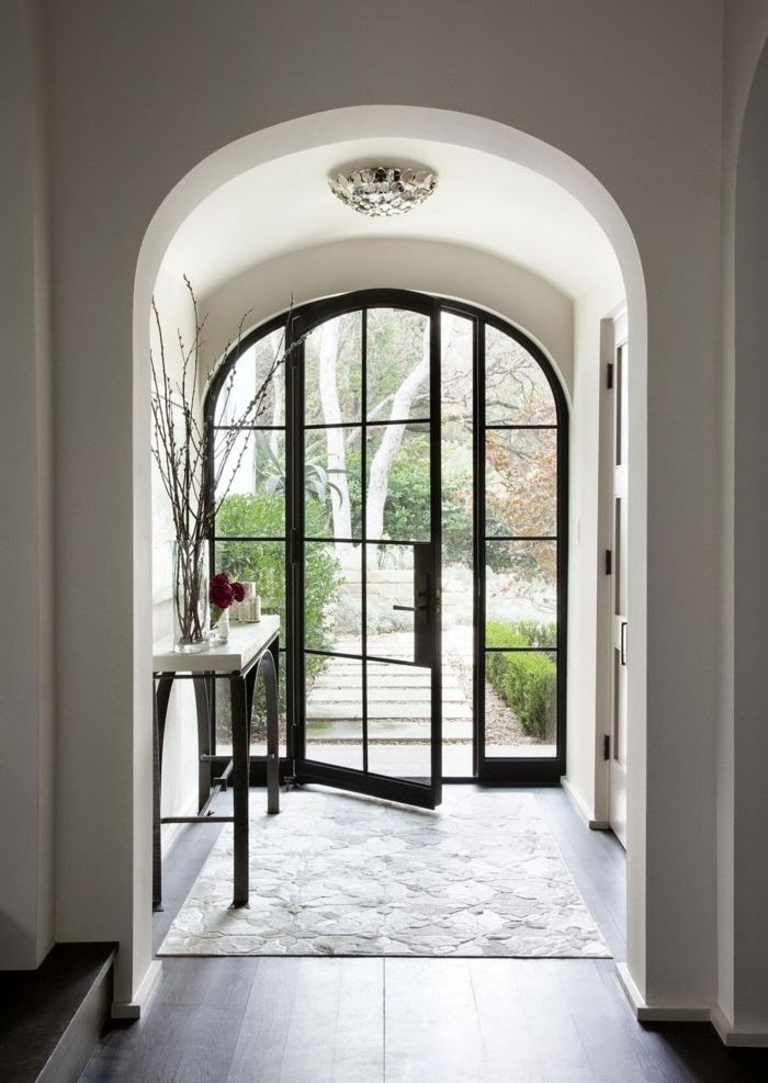 Modern front doors offer unique design and more security …