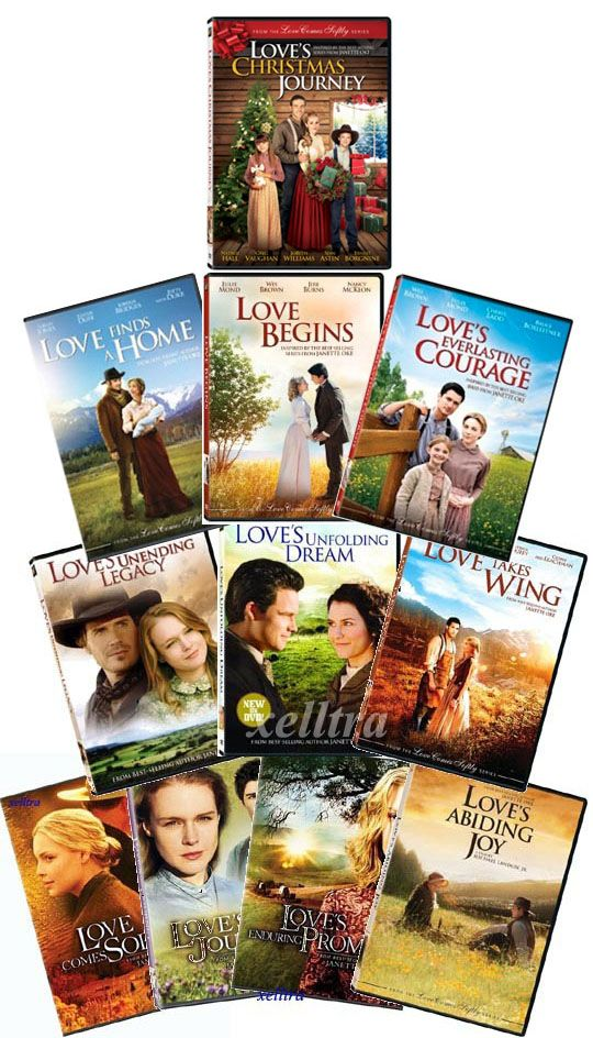 Love Comes Softly Series Oke All 11 DVDs