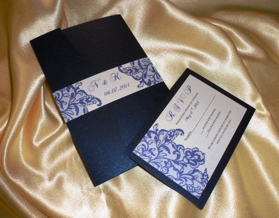 1000 images about blue invitations on pinterest - Etsy Faire Part Mariage