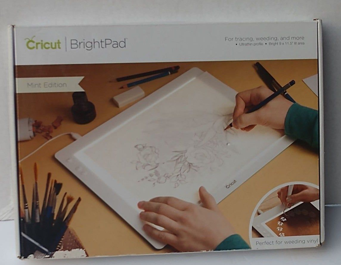 Cricut Brightpad Is The Brilliant Crafting Companion That Illuminates Projects For Easier Crafting And Reduced Eye Paper Piecing Quilts Cricut Cricut Brightpad